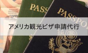 アメリカ観光ビザ申請代行